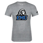 Adidas Sport Grey Logo T Shirt-EMU w/ Lion Head