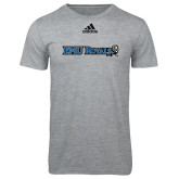 Adidas Sport Grey Logo T Shirt-Institutional Logos