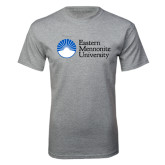 Grey T Shirt-University Logo