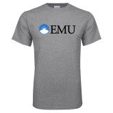 Grey T Shirt-Institutional Logos