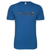 Next Level SoftStyle Royal T Shirt-Institutional Logos