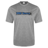 Performance Grey Heather Contender Tee-Institutional Logos