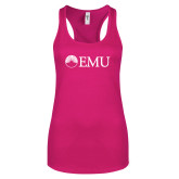 Next Level Ladies Raspberry Ideal Racerback Tank-Institutional Logos