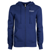 ENZA Ladies Royal Fleece Full Zip Hoodie-Institutional Logos