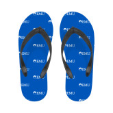 Ladies Full Color Flip Flops-Institutional Logos