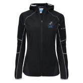 Columbia Ladies Sweet As Black Hooded Jacket-Official Logo