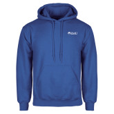 Royal Fleece Hoodie-Institutional Logos