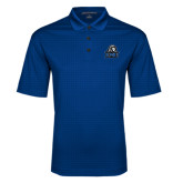Royal Performance Fine Jacquard Polo-EMU w/ Lion Head