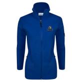 Columbia Ladies Full Zip Royal Fleece Jacket-EMU w/ Lion Head
