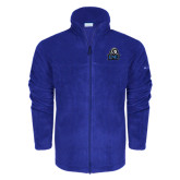 Columbia Full Zip Royal Fleece Jacket-EMU w/ Lion Head