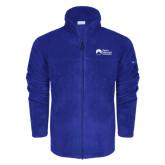 Columbia Full Zip Royal Fleece Jacket-University Logo