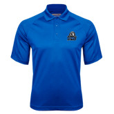Royal Textured Saddle Shoulder Polo-EMU w/ Lion Head