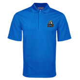 Royal Mini Stripe Polo-EMU w/ Lion Head