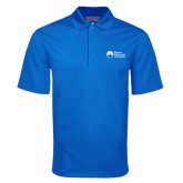 Royal Mini Stripe Polo-University Logo