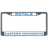Metal License Plate Frame in Black-Royals