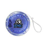 Light Up Blue Yo Yo-EMU w/ Lion Head