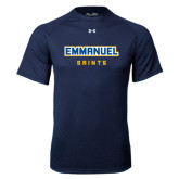 Under Armour Navy Tech Tee-Secondary Mark