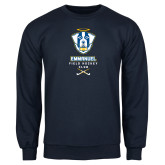 Navy Fleece Crew-Emmanuel Field Hockey Club