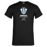 Black T Shirt-Emmanuel Field Hockey Club
