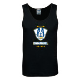 Black Tank Top-Primary Logo