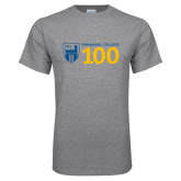Grey T Shirt-Emmanuel College 100