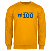 Gold Fleece Crew-Emmanuel College 100