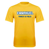 Performance Gold Tee-Track and Field