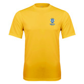Syntrel Performance Gold Tee-Primary Logo
