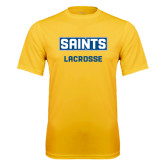 Syntrel Performance Gold Tee-Lacrosse