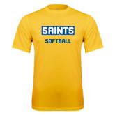 Syntrel Performance Gold Tee-Softball