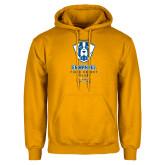 Gold Fleece Hoodie-Emmanuel Field Hockey Club