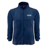 Fleece Full Zip Navy Jacket-Saints