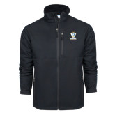 Columbia Ascender Softshell Black Jacket-Primary Logo