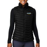 Columbia Mighty LITE Ladies Black Vest-Secondary Mark