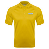 Gold Textured Saddle Shoulder Polo-Saints