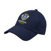 Navy Heavyweight Twill Pro Style Hat-Primary Logo