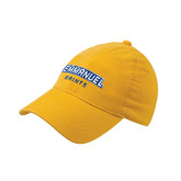 Gold Flexfit Mid Profile Hat-Secondary Mark