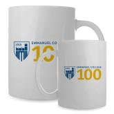 Full Color White Mug 15oz-Emmanuel College 100