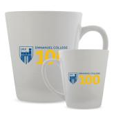 Full Color Latte Mug 12oz-Emmanuel College 100