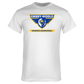 White T Shirt-Womens Basketball