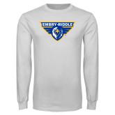 White Long Sleeve T Shirt-Athletic Mark