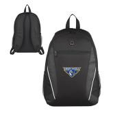 Atlas Black Computer Backpack-Athletic Mark