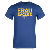 Royal T Shirt-ERAU Eagles