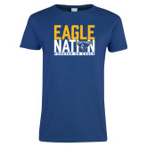 Ladies Royal T-Shirt-Eagle Nation