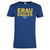 Ladies Royal T-Shirt-ERAU Eagles
