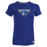 Ladies Russell Royal Essential T Shirt-Athletic Mark