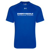 Under Armour Royal Tech Tee-University Mark