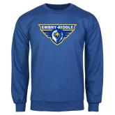 Royal Fleece Crew-Athletic Mark