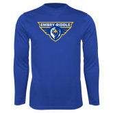 Performance Royal Longsleeve Shirt-Athletic Mark