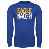 Royal Long Sleeve T Shirt-Eagle Nation